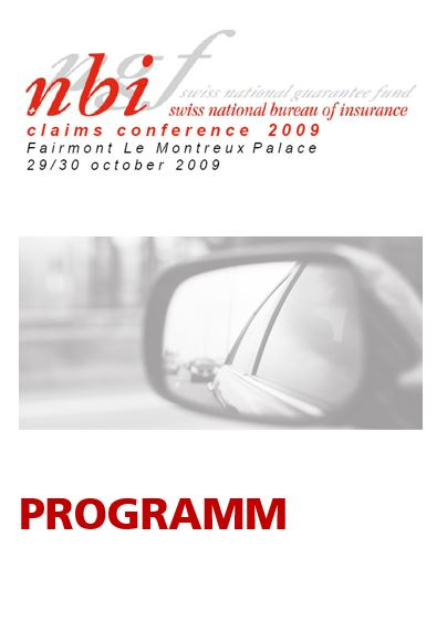 Programm Claims Conference 2009