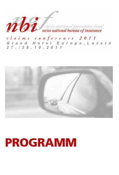 Programm Claims Conference 2011