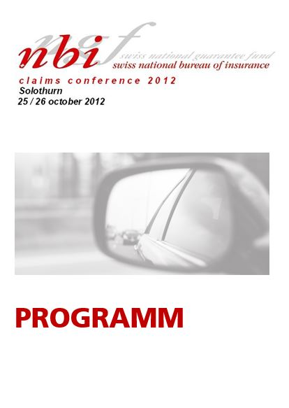 Programm Claims Conference 2012