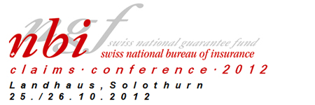 Logo Claims Conference 2012